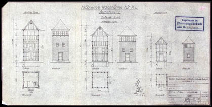 Auschwitz Inside The Nazi State Maps Amp Plans Barracks