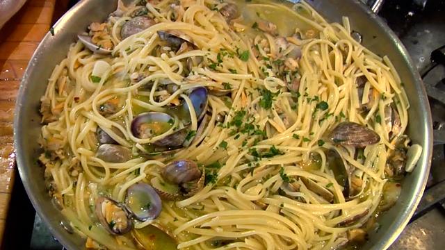 Spagettie Clam Sauce Recipe