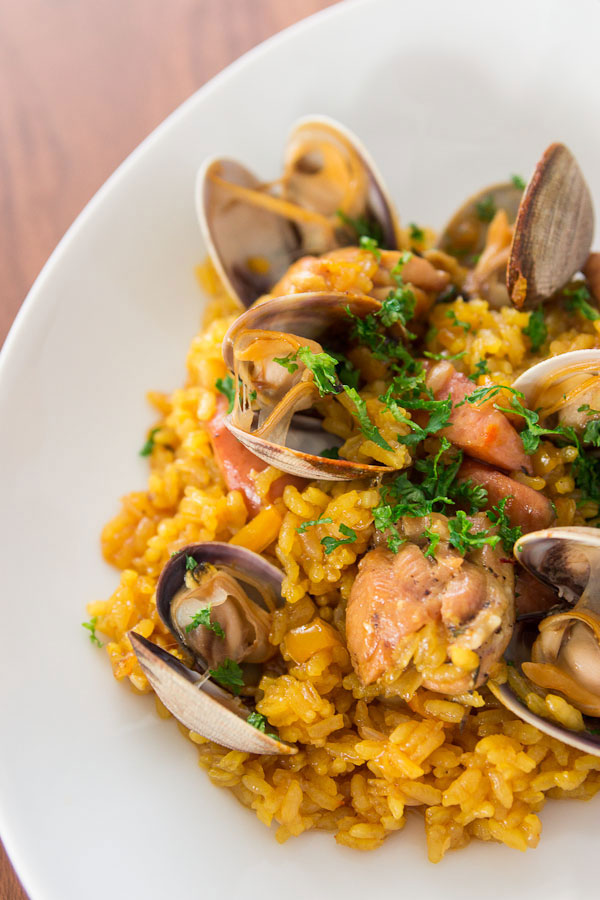 Clams and Chicken Paella Recipe | Fresh Tastes Blog | PBS Food