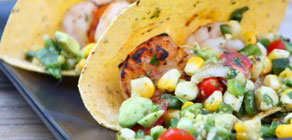 Grilled Shrimp Tacos for Cinco de Mayo