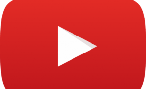 """YouTube """"play"""" button courtesy of Wikimedia Commons and resused here with Creative Commons license."""