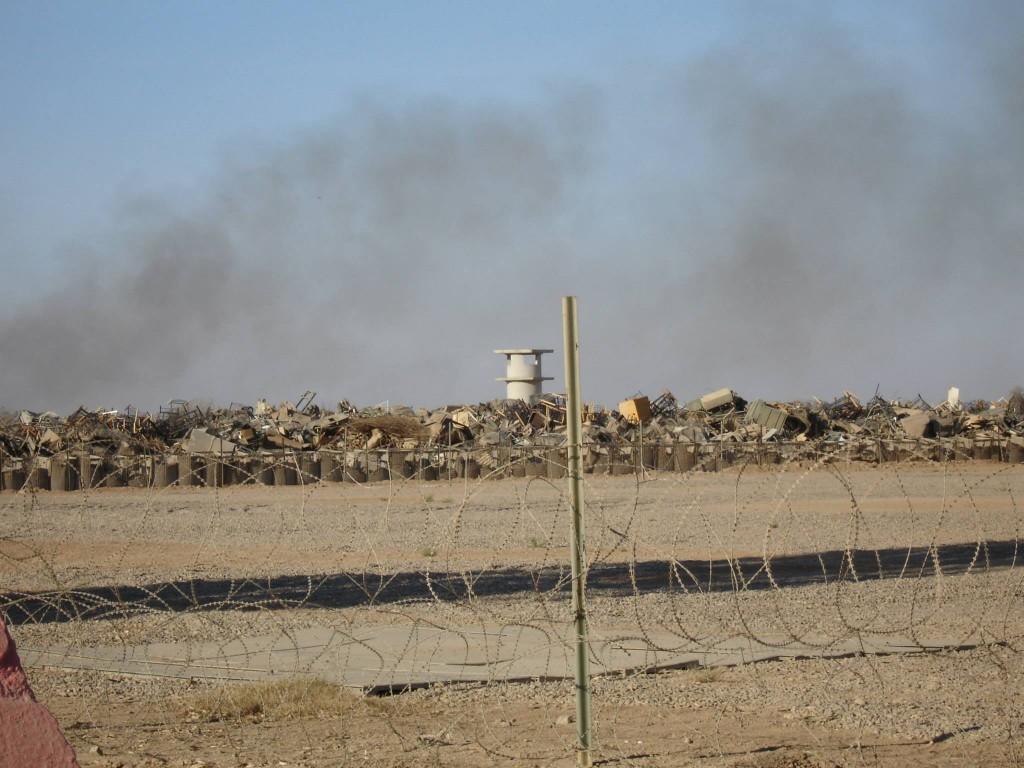 Camp Anaconda/Balad Air Base 2005-2006. Photo by Doug Dykstra.