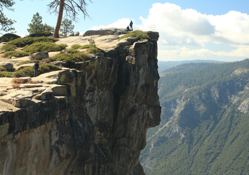 Taft Point in Yosemite National Park. Photo by Flickr user Frank Kovalchek