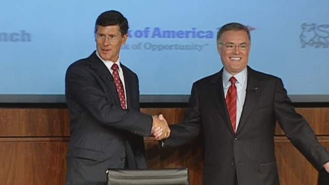 Bank of America Agrees to Settle Charges Over Merrill Purchase