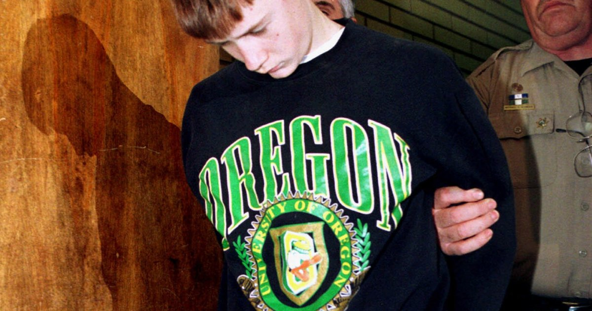 Fourteen Years Later Looking Back At A School Shooting The Killer At Thurston High Frontline Pbs Official Site Kinkel shot his parents to death in their home hours before his cafeteria rampage, which left two classmates dead and another 22. school shooting