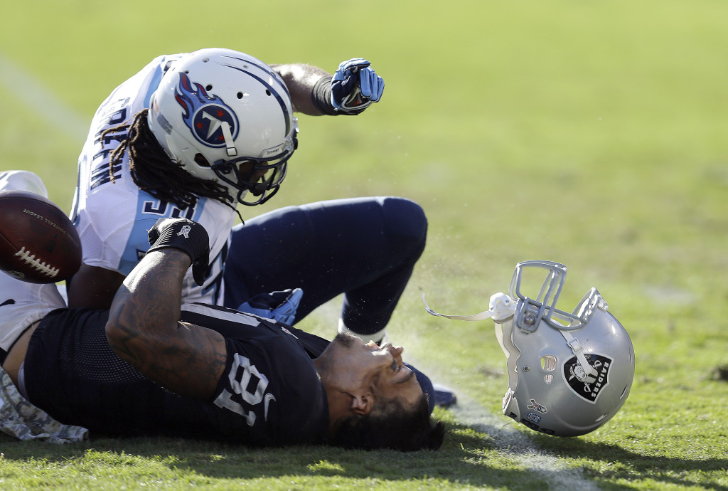Repeated Head Hits Not Just Concussions >> Concussion Watch Nfl Head Injuries In Week 12 Frontline