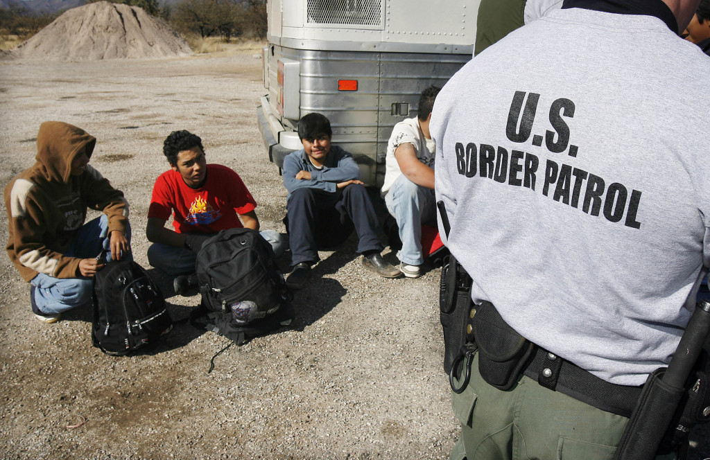 19 2007 File Po The U S Border Patrol Detains A Large Group Of Suspected Immigrants At The Arizona Mexico Border In Sasabe Ariz