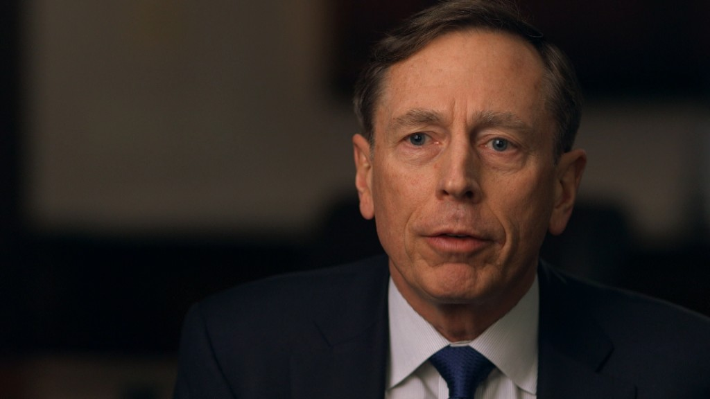 David Petraeus No Substitute For U S Leadership In Iraq Syria