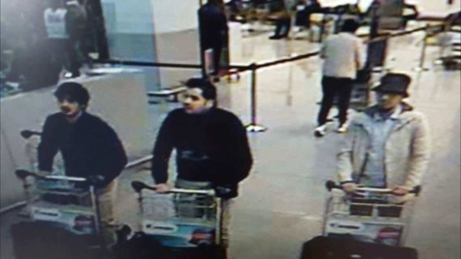 Mohamed Abrini came to be known as The Man in the Hat after authorities released security camera footage of three men wheeling bomb-laden suitcases into the Brussels airport.
