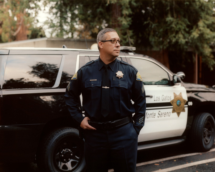 Sergeant Erin Lunsford of the Los Gatos-Monte Sereno Police Department was the lead investigator in Kumra's murder. (Credit: Carlos Chavarria)