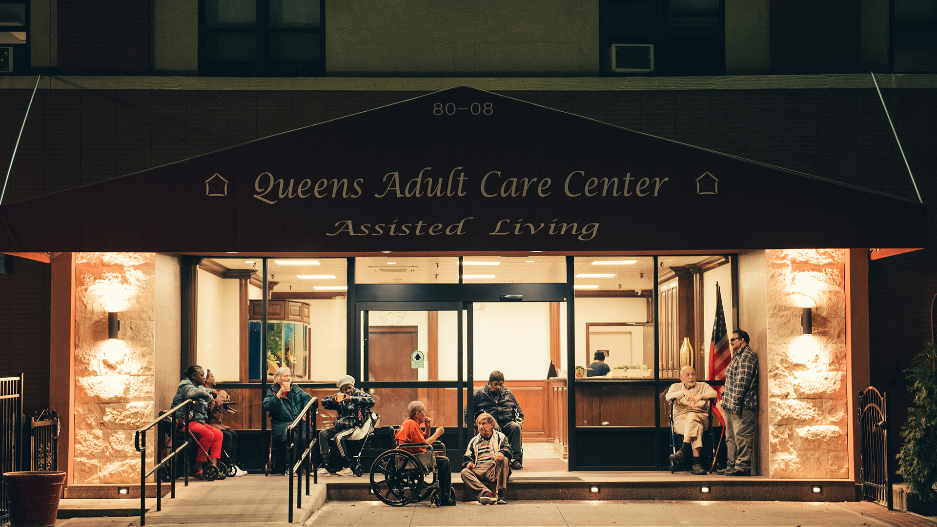 Queens Adult Care Center, where Nestor Bunch moved in 2009 after he was deemed unfit to live independently.