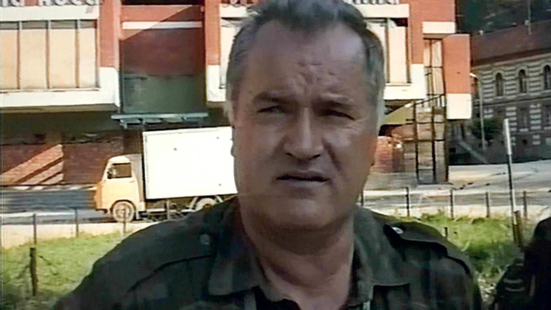 ratko mladic video footage from srebrenica