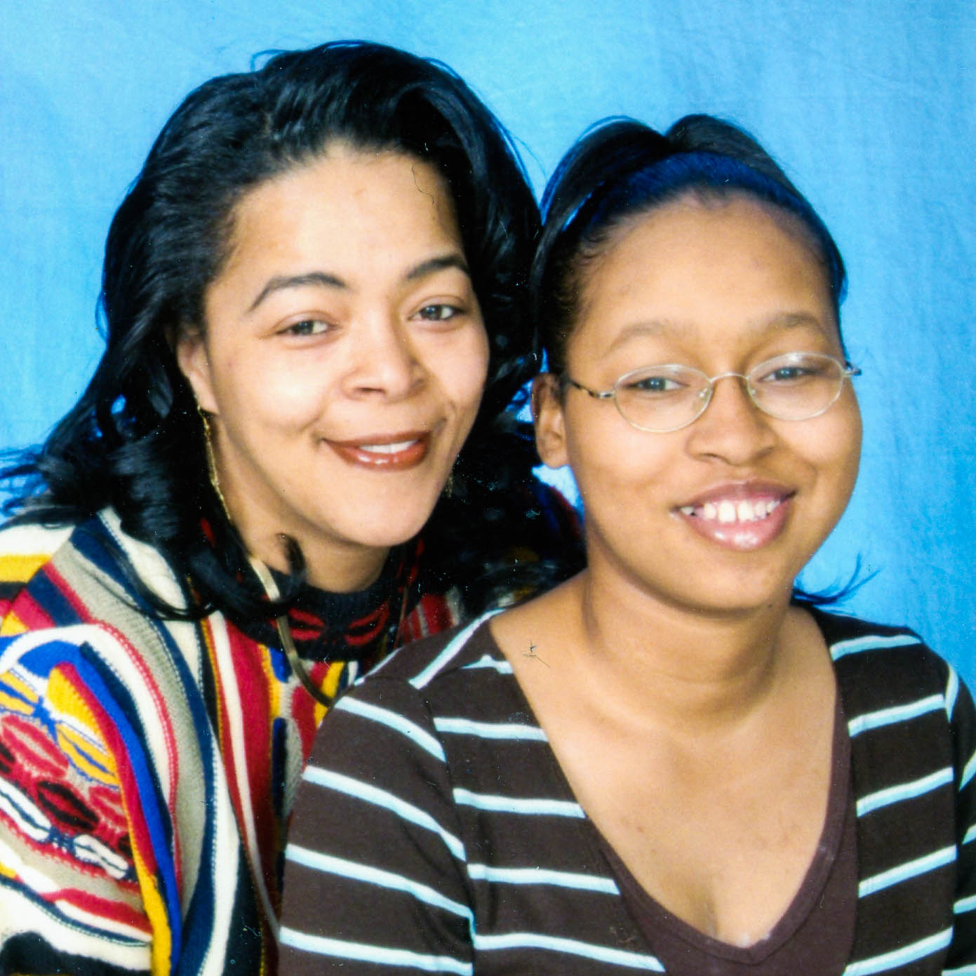 Jassmine McBride with her mother, Jacqueline.