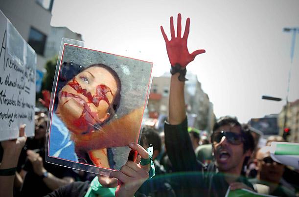 Remembering Neda  Tehran Bureau  FRONTLINE  PBS