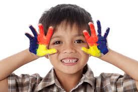 amateur painter child