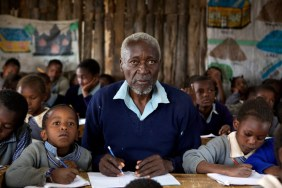 84 year old Kenyan goes to first grade~