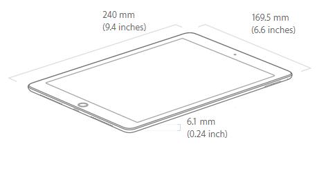 Apple iPad Pro 9.7″ 32GB WiFi