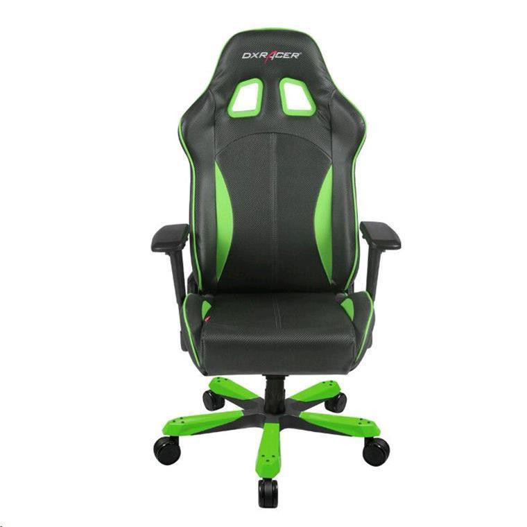 ergonomic chair used cover hire and fitting buy the dxracer king series oh ks57 ne gaming black green pu leather maximum load of 400lbs comfortably for at least 8 hours a day