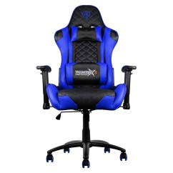 X3 Office Chair Target Bean Bag Chairs Buy The Thunderx3 Tgc12 Gaming Black And Blue Tegc