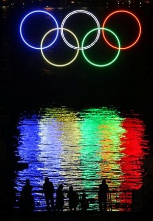The Olympic Rings, A Representation of The Five Major Continents (The Americas, Asia, Africa, Europe and Oceana)