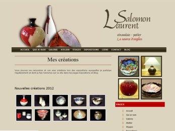 site Laurent Salomon