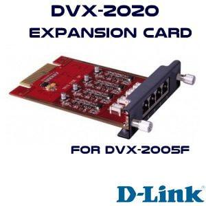 Dlink-DVX2020-EXPANSION-CARD-FPR-2005F