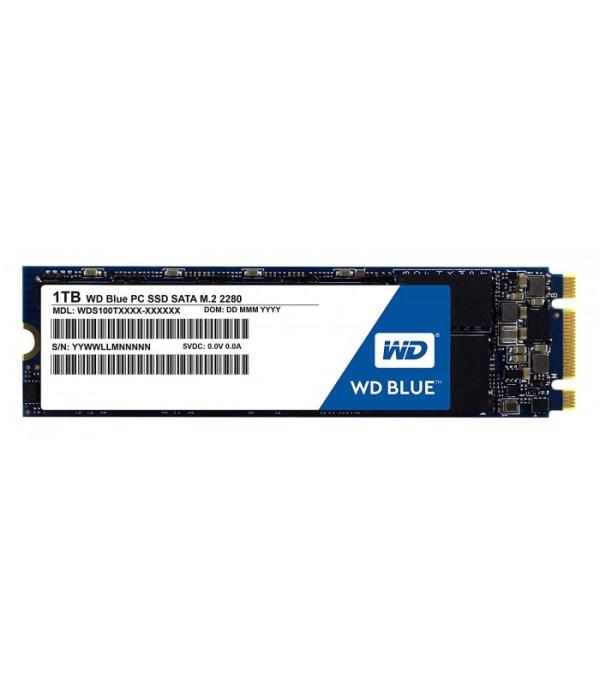 Western Digital Blue 1TB M.2 2280 SATA3 SSD (WDS100T1B0B)