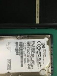バッファロー外付けハードディスクHD-PF250U2の分解とデータ復旧