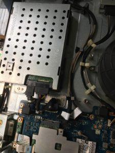 NEC一体型PC NV770/F 削除ファイルの復元