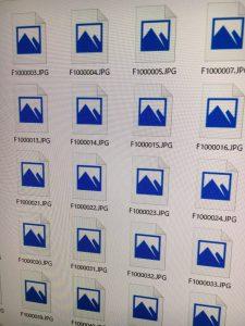 外付けHDDの写真画像ファイルが全て開けなくなった