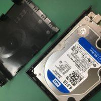 誤ってフォーマットしたMacで使用していた外付けハードディスクのデータ復旧