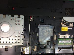 NECのロゴから進まないノートPC PC-VJ24LFWDJの修理とデータ復旧