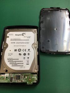 フォーマットしてください表示が出るBUFFALO外付けHDD HD-PV500U2のデータ復旧