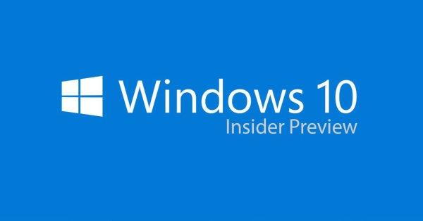 Microsoft Windows 10 Insider Preview Build 10565