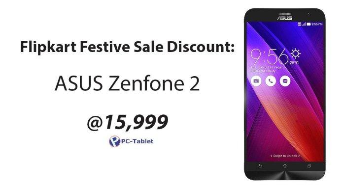ASUS Zenfone 2 Flipkart Discount