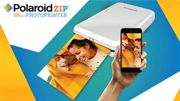 Polaroid Cube and Polaroid ZIP Printer