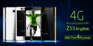 Videocon Z55 Krypton 4G Smartphone