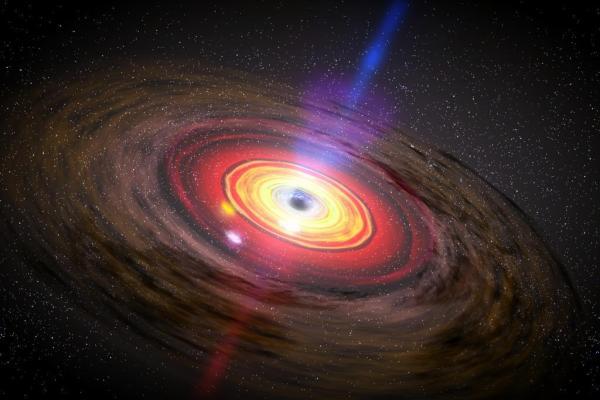 second largest black hole