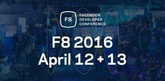 Facebook F8 Developer Conference 2016