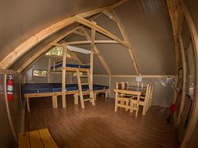 Roofed accommodations  Kejimkujik National Park and