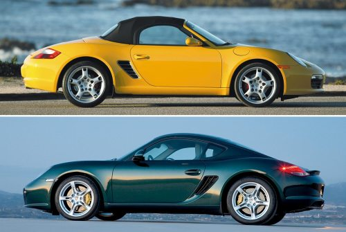 small resolution of model guide type 987 boxster matures cayman coupe launches