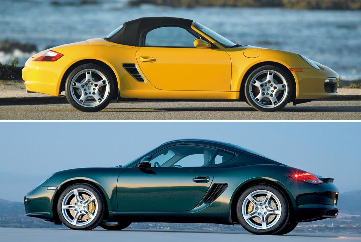 Model Guide: Type 987 — Boxster matures, Cayman coupe