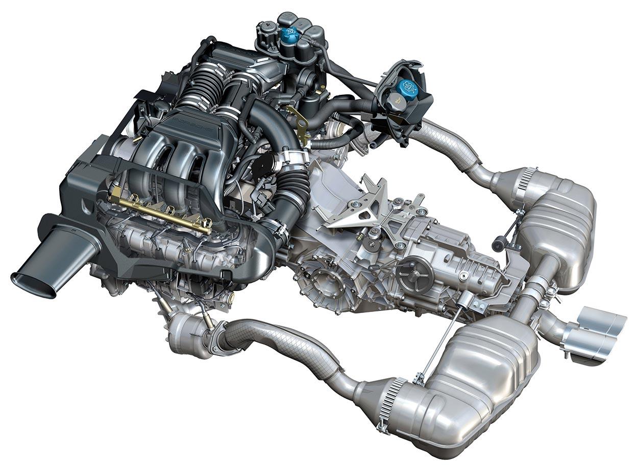 porsche engine diagrams