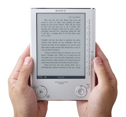 Lectores ebook: Sony PRS-505