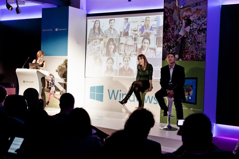 María Garaña presentación Windows 8 detalle 2