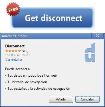 Privacidad Disconnect Navegadores 2