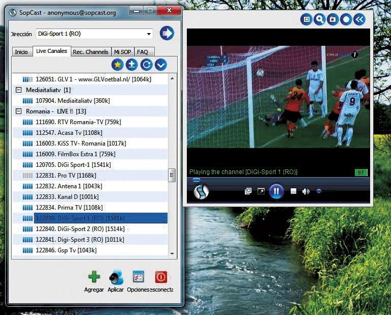 Disfruta del mejor fútbol 2