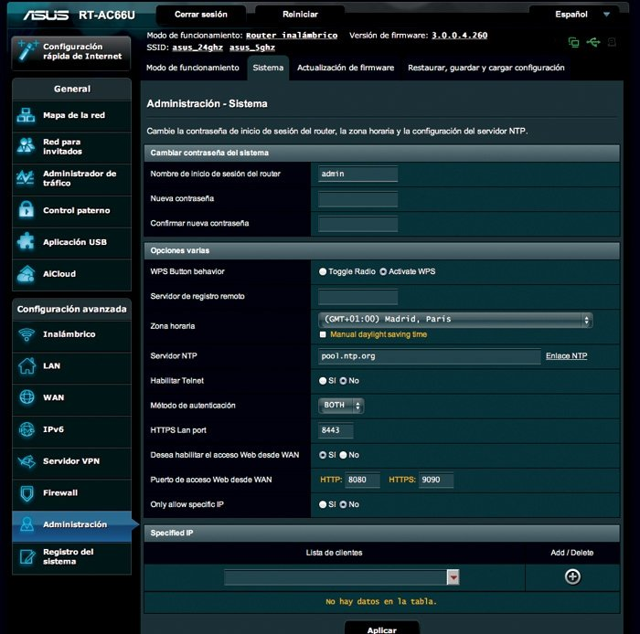 Asus RT-AC66U práctico 6