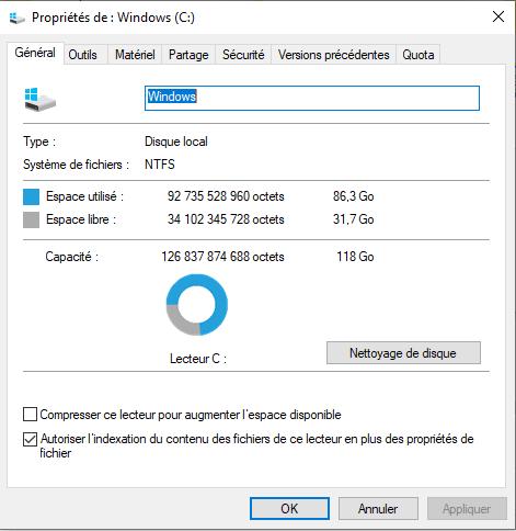 optimiser windows 10