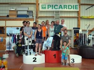Podium en Précision d'Atterrissage par Equipe au Championnat de Picardie 2015 à Frétoy-le-Château